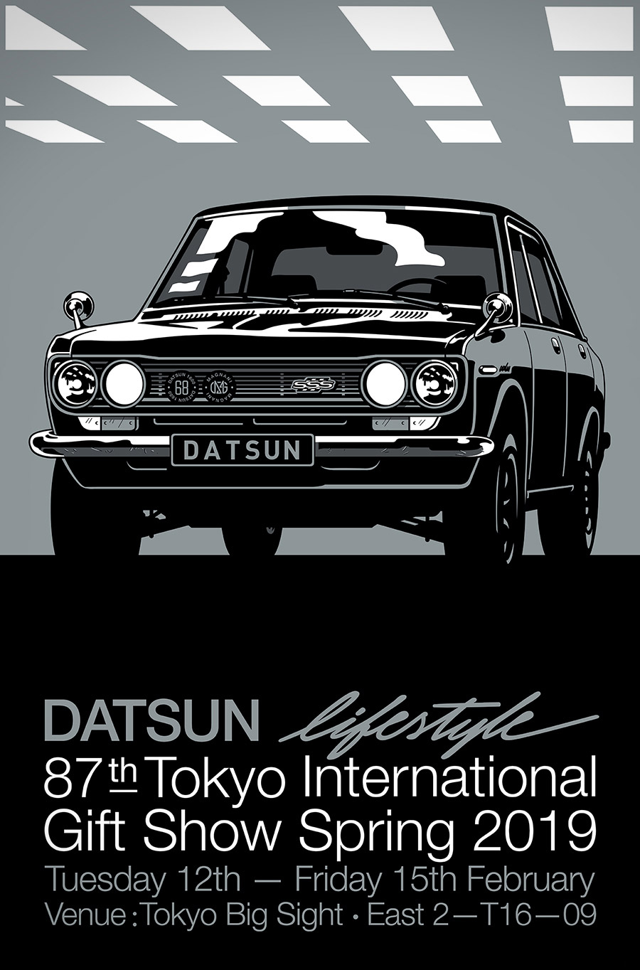 Gianmarco Magnani X Datsun Variant Poster